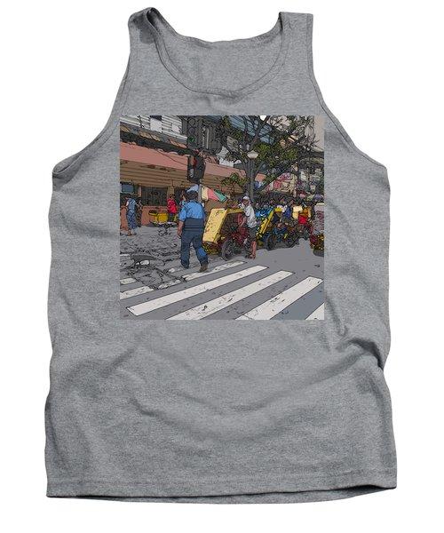 Philippines 906 Crosswalk Tank Top