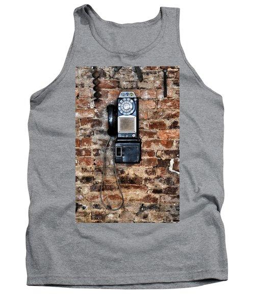 Pay Phone  Tank Top