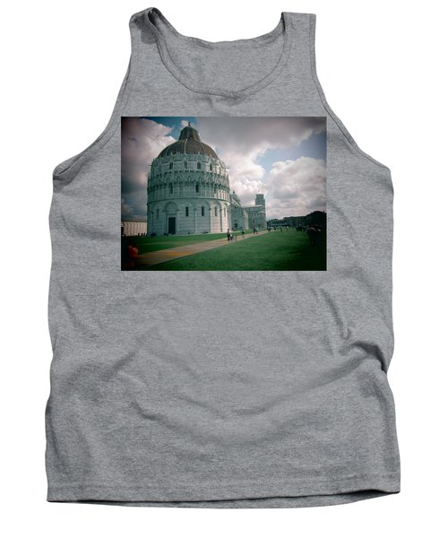 Tank Top featuring the photograph Piazza In Piza by Christin Brodie