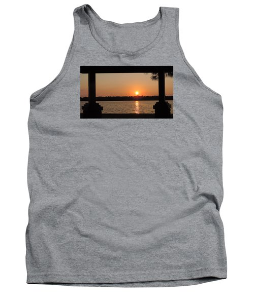 Picture Perfect Sunset Tank Top by Teresa Schomig