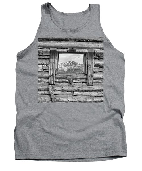 Tank Top featuring the photograph Picture Window #2 by Eric Glaser