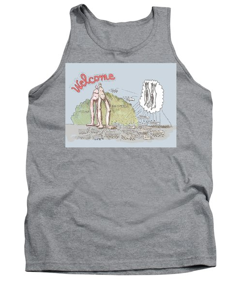 Piece Of Meat Tank Top