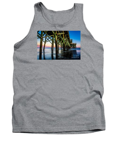 Pier Perspective Tank Top by David Smith