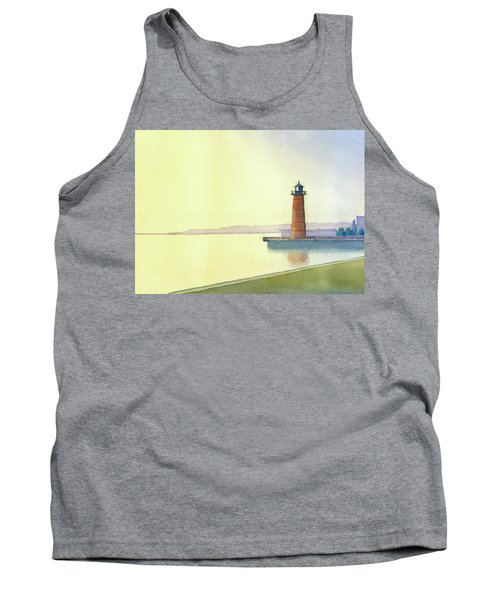 Pierhead Lighthouse, Milwaukee Tank Top