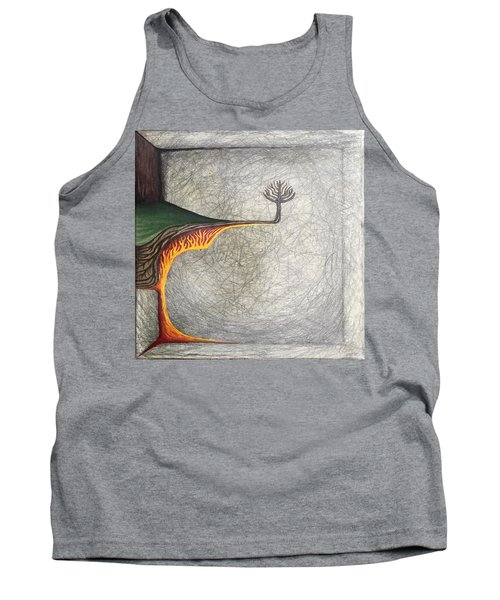Tank Top featuring the mixed media Pillow by Steve  Hester