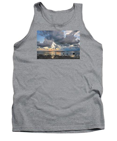 Pine Island Sunset Tank Top