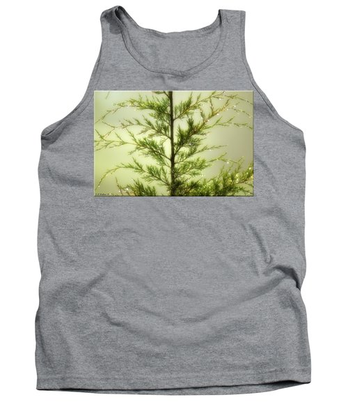 Tank Top featuring the photograph Pine Shower by Brian Wallace