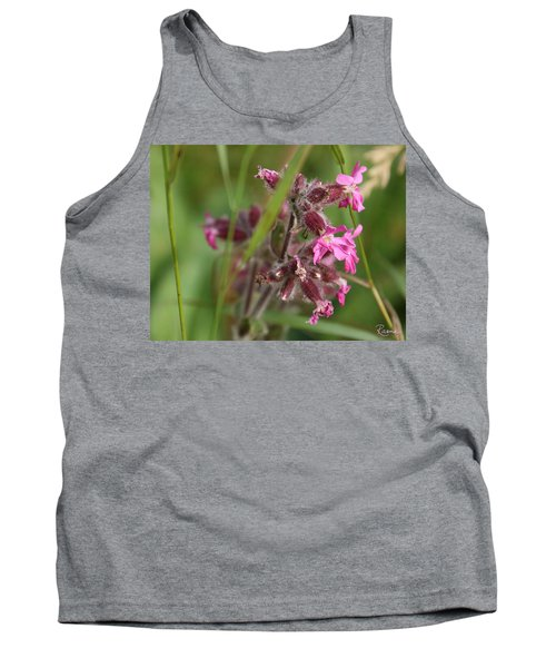 Pink Campion In August Tank Top