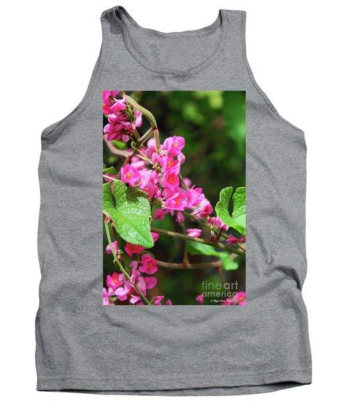 Pink Flowering Vine3 Tank Top