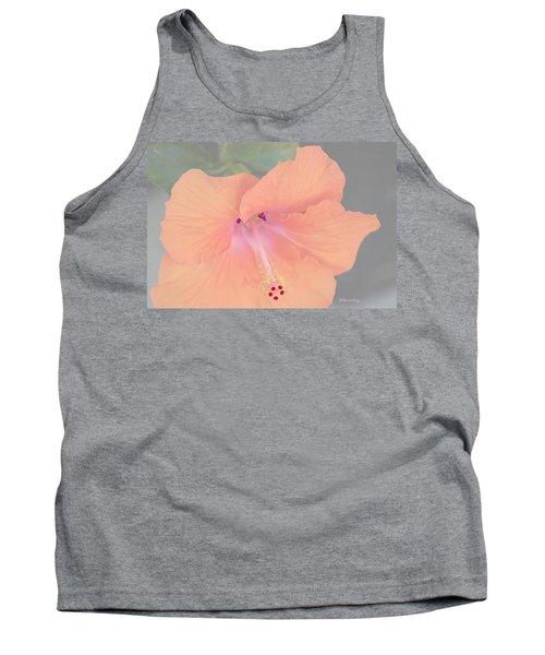 Pink Heavenly Hibiscus Tank Top