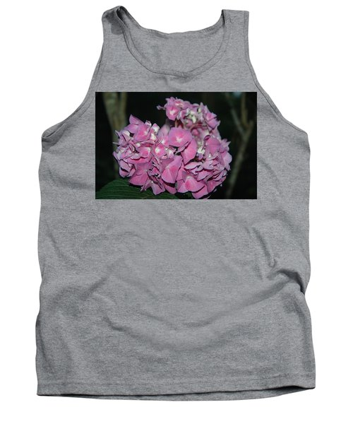 Pink Hydrangea Tank Top