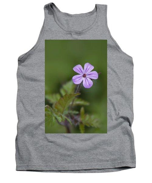 Pink Phlox Wildflower Tank Top
