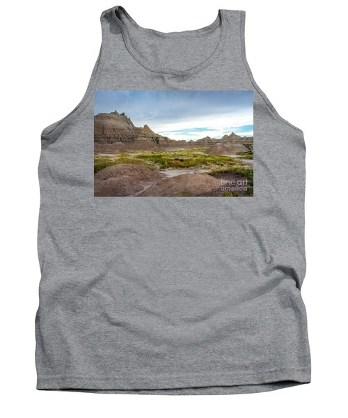 Pinnacles Of The Badlands Tank Top