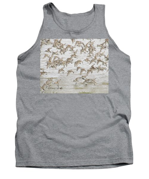 Piping In Spring Tank Top by I'ina Van Lawick