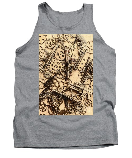 Pistol Parts And Rifle Pinions Tank Top