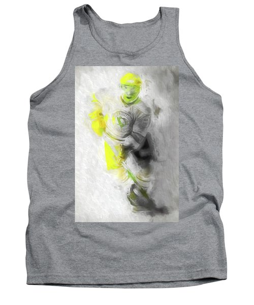 Tank Top featuring the photograph Pittsburgh Penguins Nhl Sidney Crosby Painting Fantasy by David Haskett