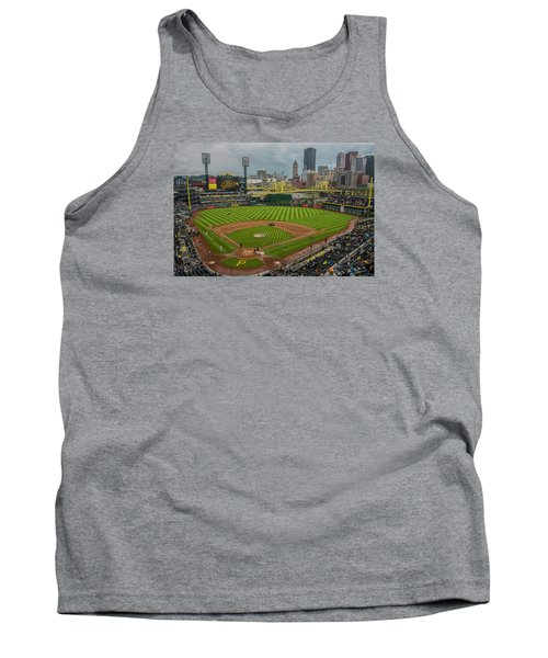 Pittsburgh Pirates Pnc Park 5569 Tank Top by David Haskett