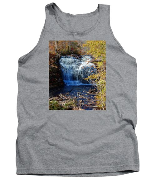 Tank Top featuring the photograph Pixley Falls State Park by Diane E Berry