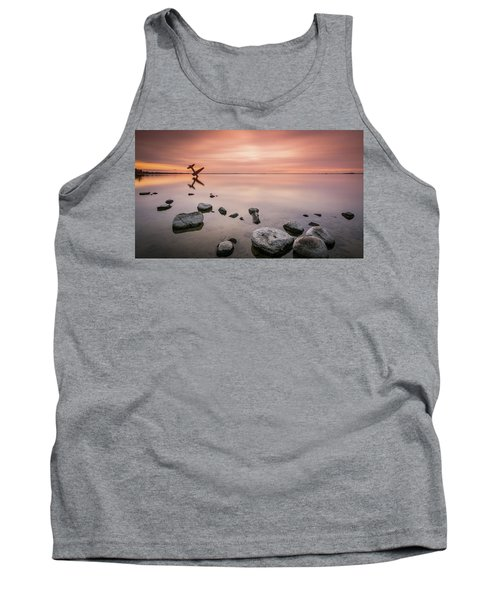 Plane And Colors Tank Top