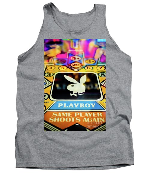 Tank Top featuring the photograph Playboy Pinball by Colleen Kammerer
