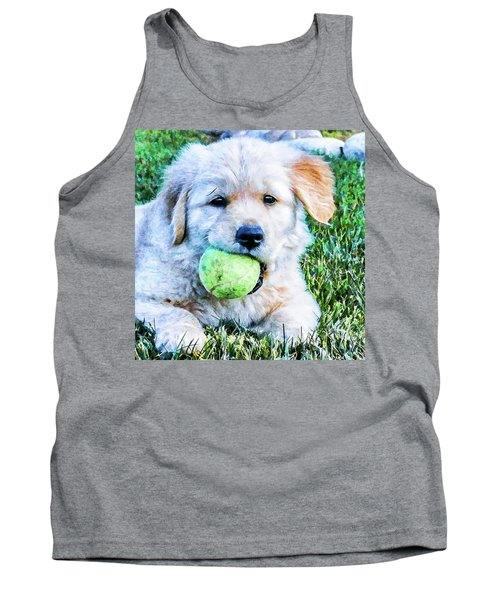 Playful Pup Tank Top