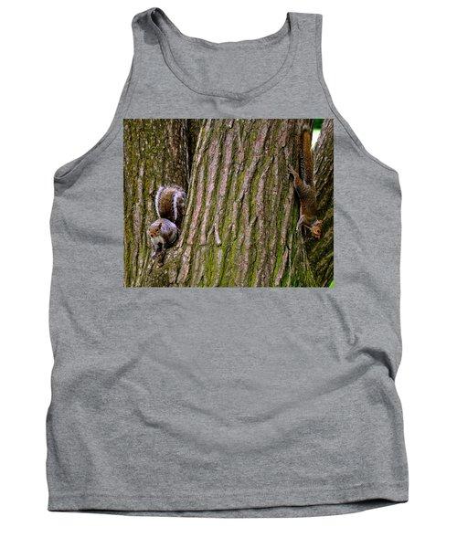 Playful Squirrels  Tank Top