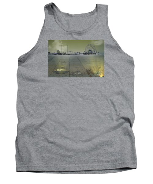 Tank Top featuring the digital art Playground On Planet X by Melissa Messick