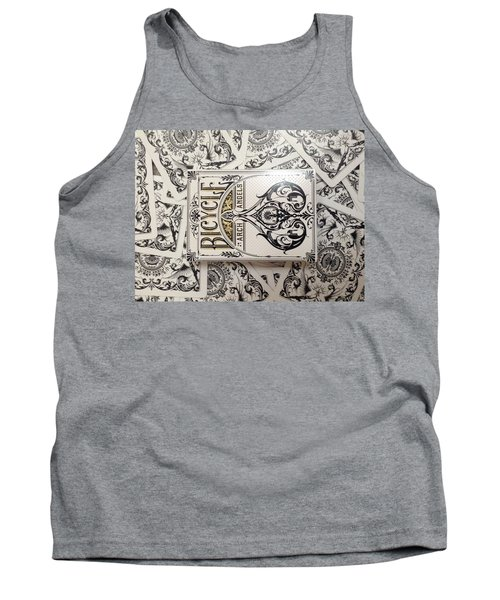 Playing Cards Tank Top by Sheila Mcdonald