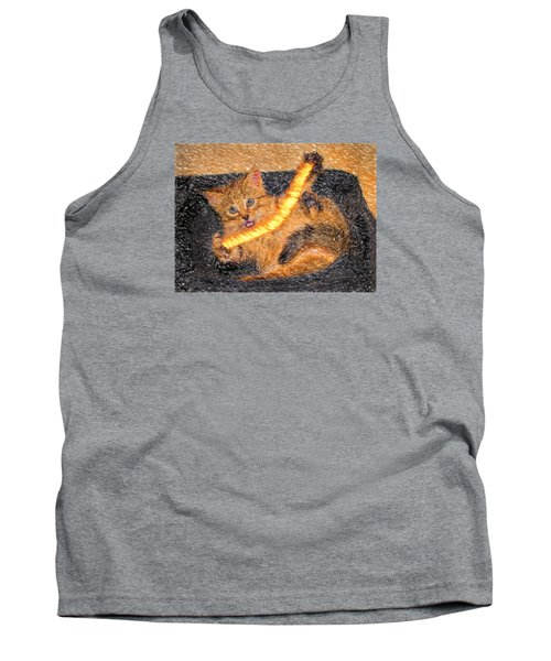 Playing With Fire Tank Top