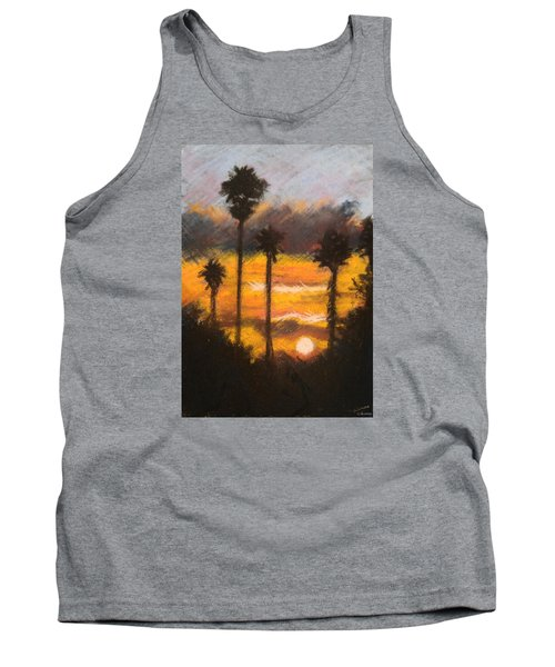 Playing With Fire, San Diego Tank Top