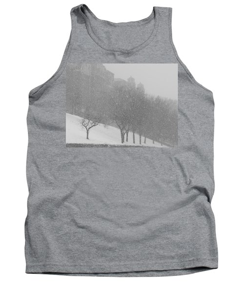 Plaza Impressionism With Kc Snow Tank Top