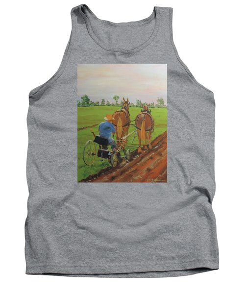 Plowing Match Tank Top
