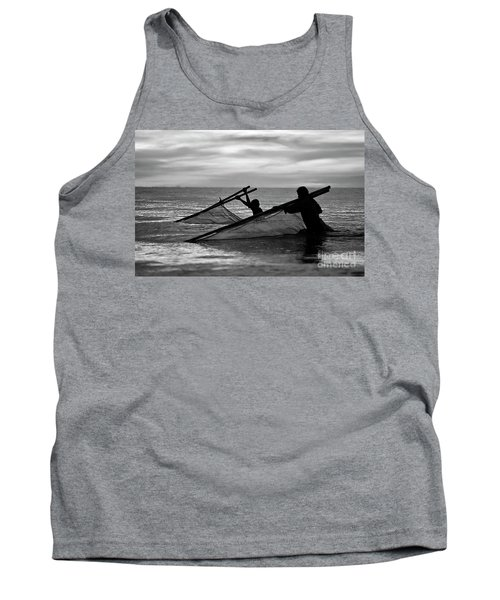 Plowing The Sea - Thailand Tank Top