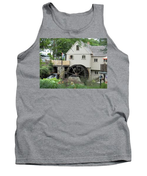 Plymouth Grist Mill Tank Top