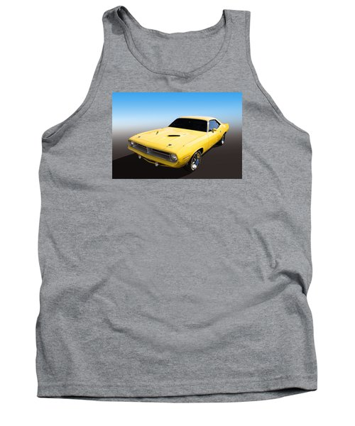 Plymouth Muscle Tank Top by Keith Hawley
