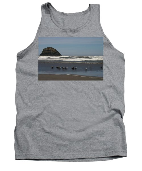 Poetry In Motion Tank Top by Marie Neder