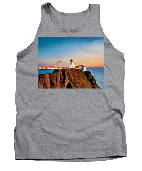 Point Bonita Lighthouse Tank Top