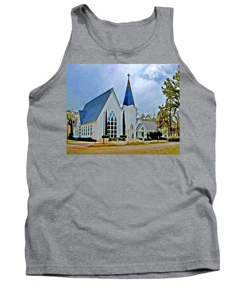 Point Clear Alabama St. Francis Church Tank Top
