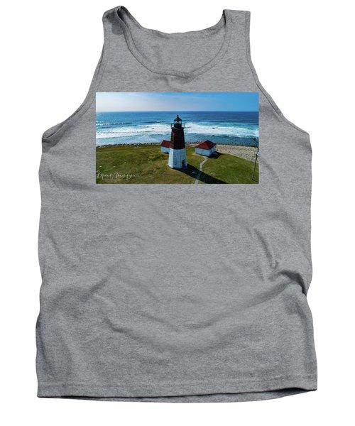 Point Judith Lighthouse Tank Top