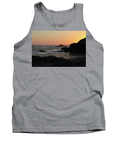 Tank Top featuring the photograph Point Lobos Sunset by David Chandler