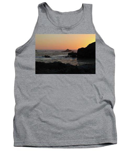 Point Lobos Sunset Tank Top