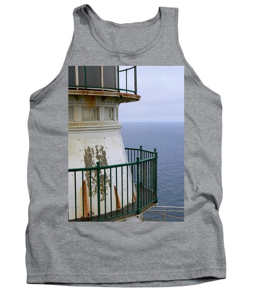 Point Reyes And The Pacific Ocean Tank Top by Laurel Powell