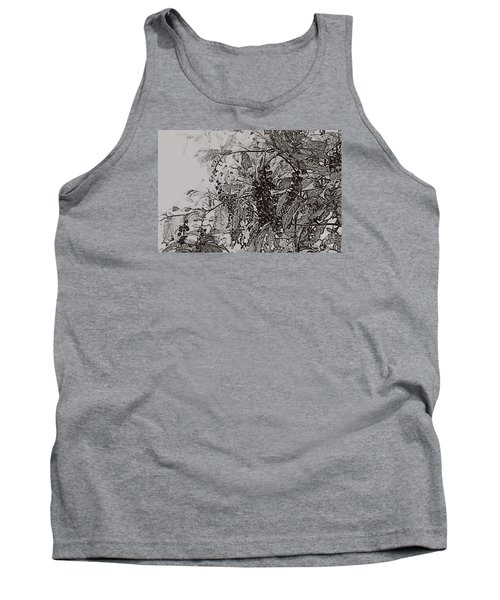 Pokeweed Tank Top by Linda Shafer