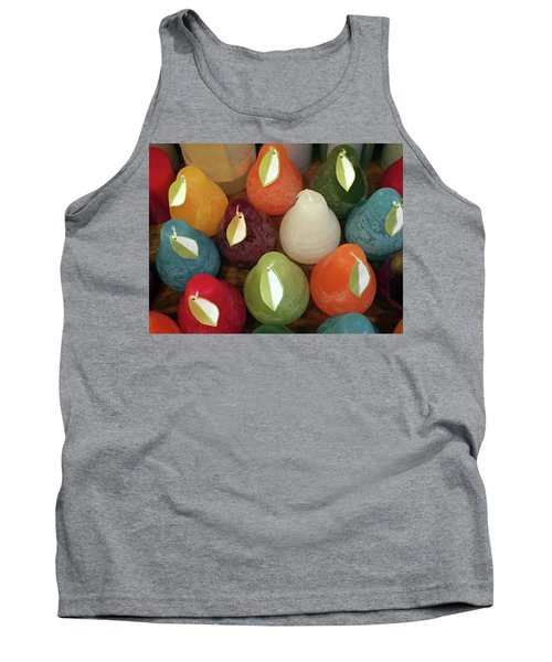 Polychromatic Pears Tank Top