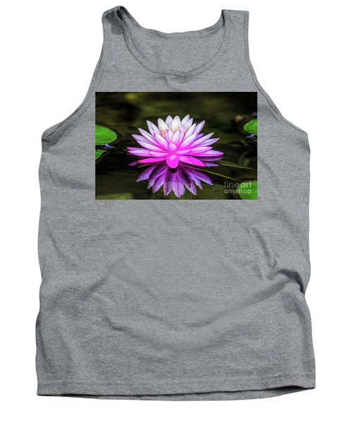 Pond Water Lily Tank Top