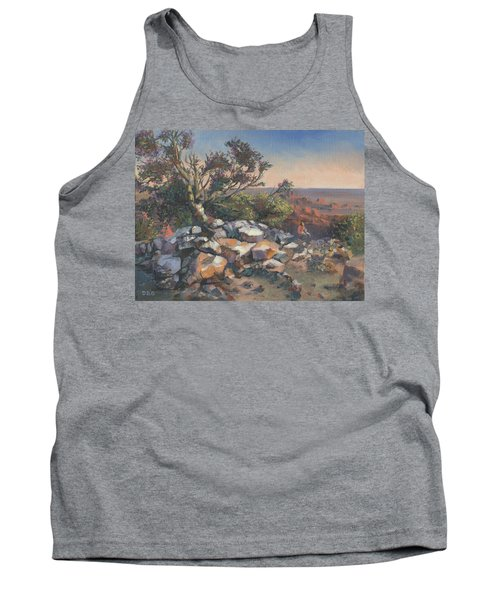 Pondering By The Canyon Tank Top