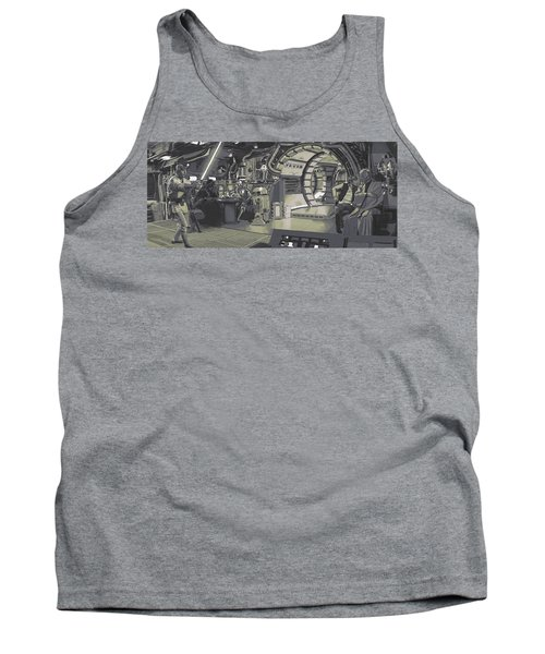 Pondering Chewie's Next Move Tank Top