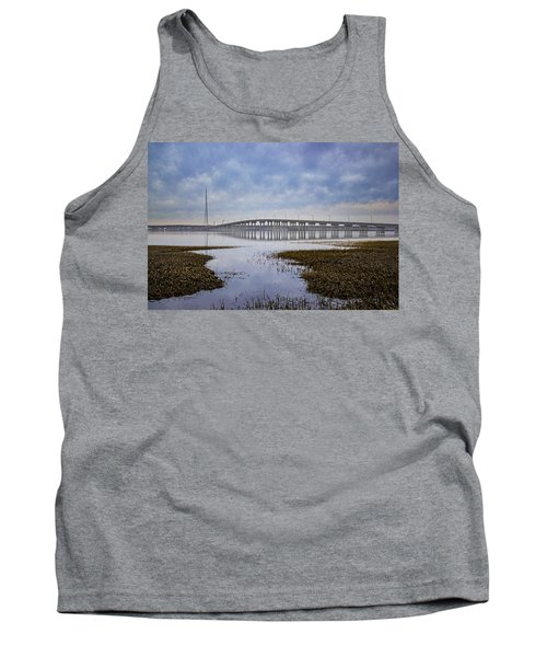 Ponquogue Bridge Hampton Bays Ny Tank Top