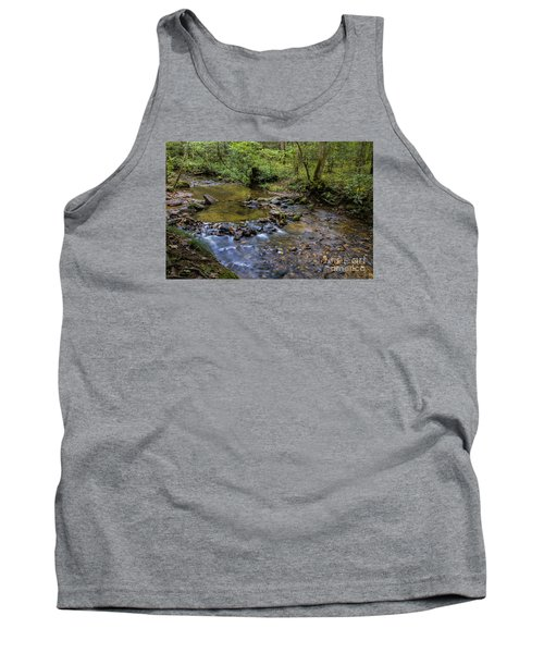 Tank Top featuring the photograph Pool At Cooper Creek by Barbara Bowen