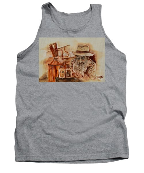 Popcorn Sutton - Waiting On Shine Tank Top